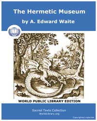The Hermetic Museum Main by Waite, A., Edward