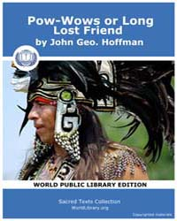 Pow-wows or Long Lost Friend, Score Ame ... by Hoffman, John Geo.