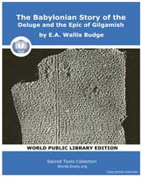 The Babylonian Story of the Deluge and t... by Budge, E.A., Wallis