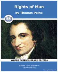Rights of Man Volume Vol. II by Paine, Thomas