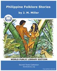Philippine Folklore Stories by Miller, J. M.