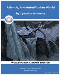 Atlantis, the Antediluvian World by Donnelly, Ignatius