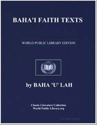 Baha'I Faith Texts by Various