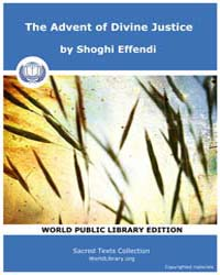 The Advent of Divine Justice by Effendi, Shoghi