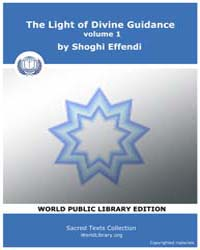 The Light of Divine Guidance, volume 1 by Effendi, Shoghi