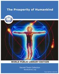 The Prosperity of Humankind by