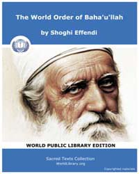 Sacred Text : the World Order of Baha'U'... by Effendi, Shoghi