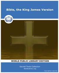 Bible, the King James Version, Score Bib... by Sacred Texts