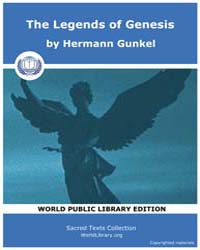 The Legends of Genesis by Gunkel, Hermann