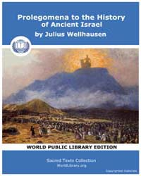 Prolegomena to the History of Ancient Is... by Wellhausen, Julius