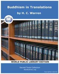 Buddhism in Translations, Score Bud Bits by Warren, H. C.