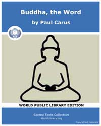 Buddha, The Word by Carus, Paul