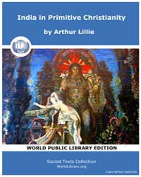 India in Primitive Christianity by Lillie, Arthur