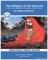 The Religion of the Samurai, a Study of ... by Nukariya, Kaiten