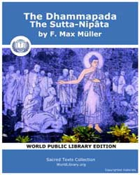 The Dhammapada, the Sutta-nipâta, Score ... Volume Vol. X by Müller, F., Max