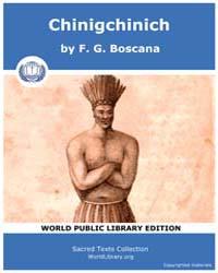 Chinigchinich by Boscana, F. G.