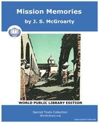 Mission Memories, Score CA Mm by McGroarty, J. S.