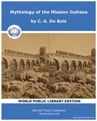 Mythology of the Mission Indians, Score ... Volume Vol. XVII by Du Bois, C. G.