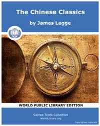 The Chinese Classics by Legge, James
