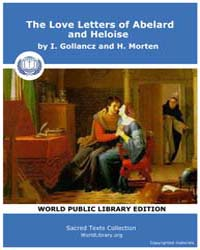 The Love Letters of Abelard and Heloise,... by I. Gollancz and H. Morten