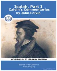 Isaiah, Part I, Calvin's Commentaries, S... by Calvin, John