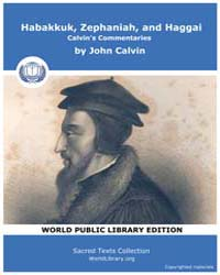 Habakkuk, Zephaniah, and Haggai, Calvin'... by Calvin, John
