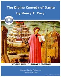 The Divine Comedy of Dante by Henry F. Cary
