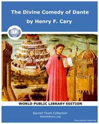 The Divine Comedy of Dante, Score Chr Da... by Henry F. Cary