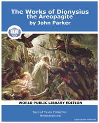 The Works of Dionysius the Areopagite, S... Volume 1 by John Parker