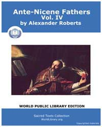 Ante-nicene Fathers, Volume Iv, Score Ch... by Alexander Roberts