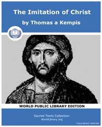 The Imitation of Christ, Score Chr Ioc by Kempis, Thomas A