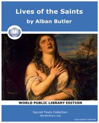 Lives of the Saints by Butler, Alban