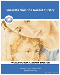 Excerpts from the Gospel of Mary by