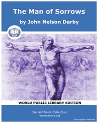 The Man of Sorrows, Score Chr Mos by Dar, John Nelson