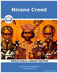 Nicene Creed by