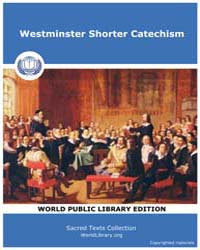 Westminster Shorter Catechism, Score Chr... by Sacred Texts