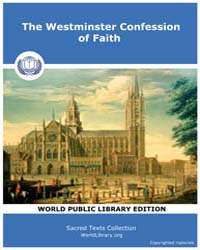 The Westminster Confession of Faith by