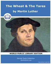 The Wheat & the Tares, Score Chr Wheat Volume Vol. II by Luther, Martin