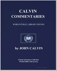 Calvin : Commentaries by Calvin, John