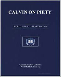Calvin on Piety by Calvin, John