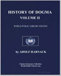 History of Dogma-Volume Ii by Harnack, Adolf