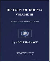 History of Dogma-Volume Iii by Harnack, Adolf