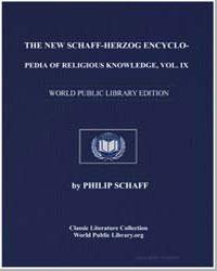 The New Schaff-Herzog Encyclopedia of Re... by Schaff, Philip