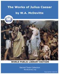 The Works of Julius Caesar by McDevitte, W. A.