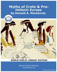 Myths of Crete & Pre-Hellenic Europe by Mackenzie, Donald A.