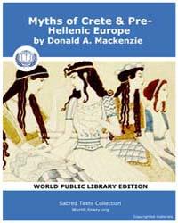 Myths of Crete & Pre-hellenic Europe, Sc... by MacKenzie, Donald A.