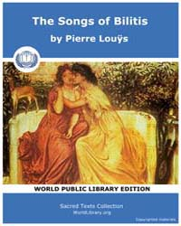 The Songs of Bilitis by Louÿs, Pierre