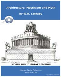 Architecture, Mysticism and Myth, Score ... by Letha, W .R.