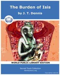 The Burden of Isis, Score Egy Boi by Dennis J. T.