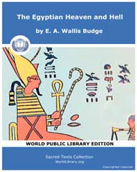 The Egyptian Heaven and Hell, Score Egy ... Volume Vol. III by Budge, E. A. Wallis